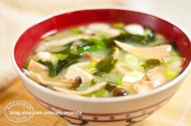家常的念想~杂菇味噌汤