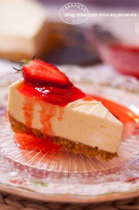 入门烘焙界的最佳起点~白巧克力芝士蛋糕