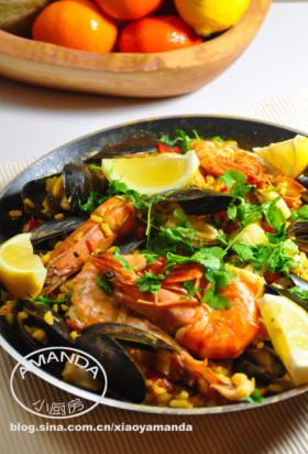倾情推荐西班牙海鲜饭