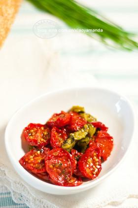 夏日阳光的味道~香草橄榄油浸番茄干