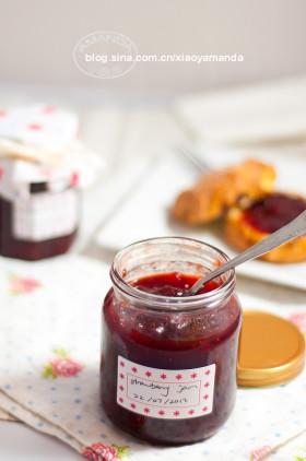 手工自制果酱全攻略~草莓果酱和覆盆子/红醋栗混合果酱