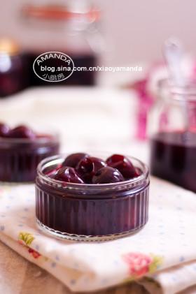 美酒封存的滋味~白兰地渍樱桃Brandied Cherries