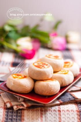 最省力的中式酥皮~桂花黑芝麻酥皮月饼