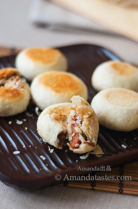 酥皮鲜肉月饼2