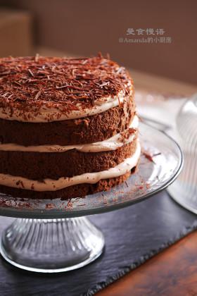 【视频】享受烘焙的过程~摩卡戚风蛋糕