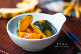 【曼食慢语】香甜原味~日式煮南瓜