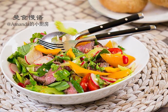 牛排沙拉4