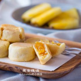 【曼食慢语】土凤梨酥~甜而微酸,果香浓郁