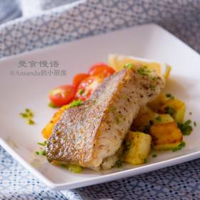 【曼食慢语】香煎鳕鱼~简单快手的丰盛晚餐