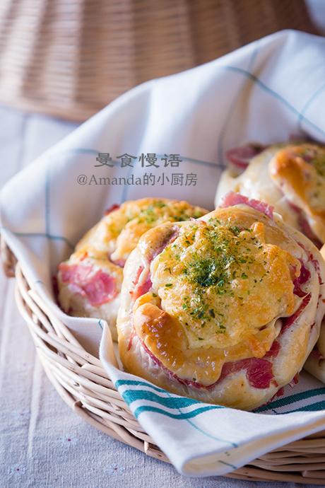 火腿芝士面包1