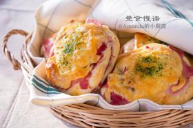 【曼食慢语】火腿芝士面包
