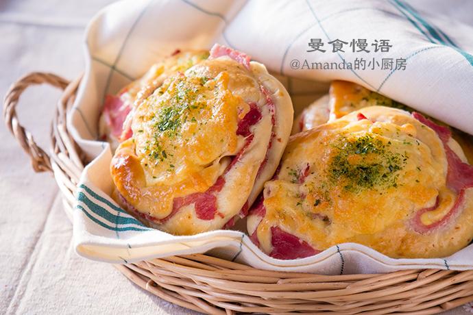 火腿芝士面包2