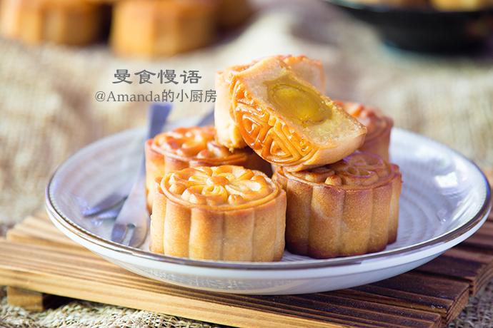 蛋黄莲蓉月饼2