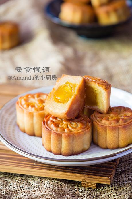 蛋黄莲蓉月饼3