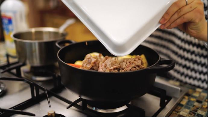 炖肉-回锅