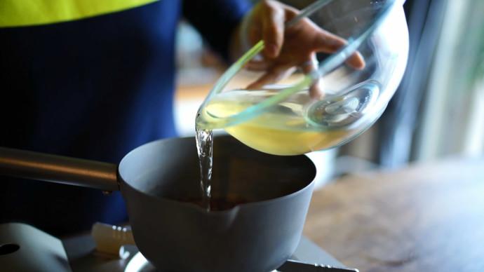 煮红豆加水