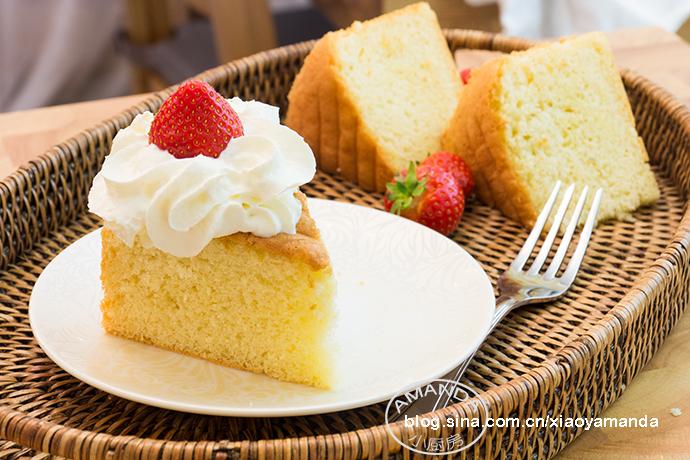 蛋糕的怀旧感——经典海绵蛋糕(视频)