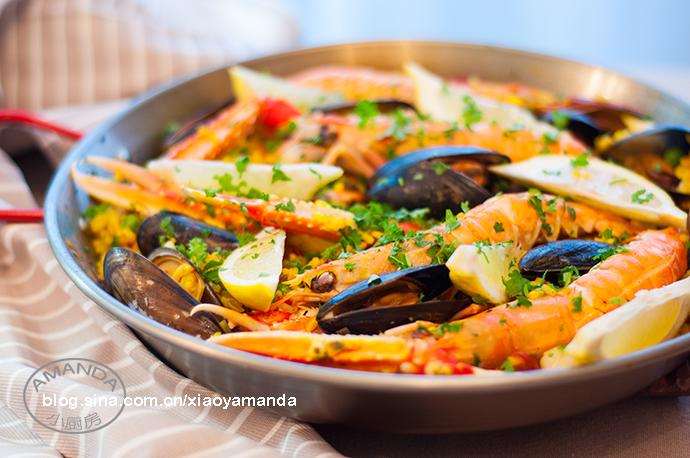 下厨的乐趣——西班牙海鲜饭(视频)