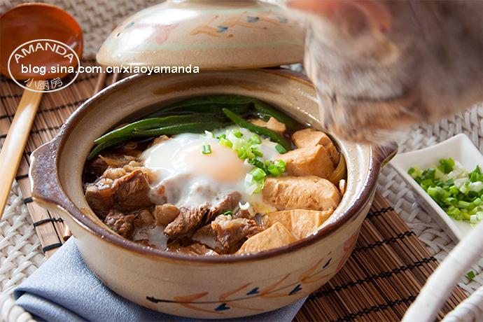 冬日的暖身砂锅——牛肉豆腐锅(视频)<wbr>孤独的美食家