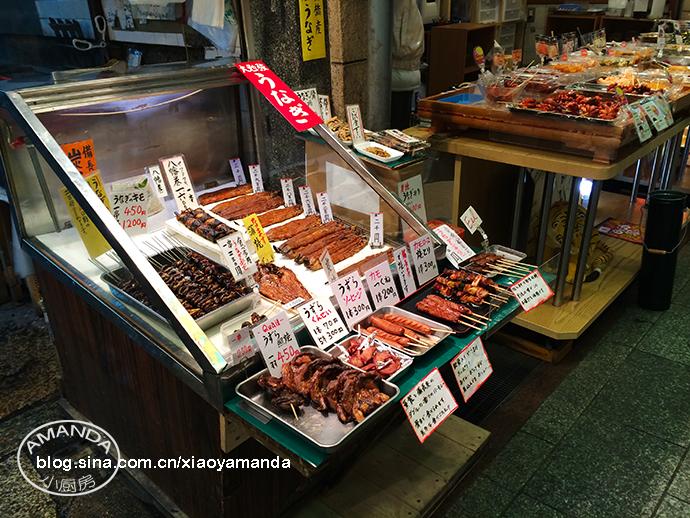 日本京都——逛不够的锦市场,焦香浓郁的五行拉面