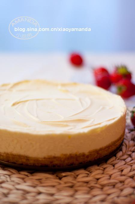 入门烘焙界的最佳起点——白巧克力芝士蛋糕
