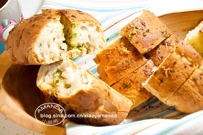 最简单又最美味——蒜香面包