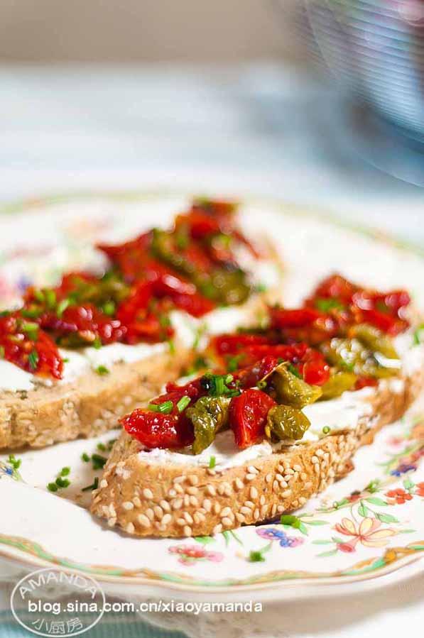 夏日阳光的味道——香草橄榄油浸番茄干