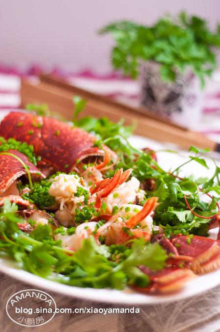 龙虾两吃——清蒸龙虾和龙虾粥