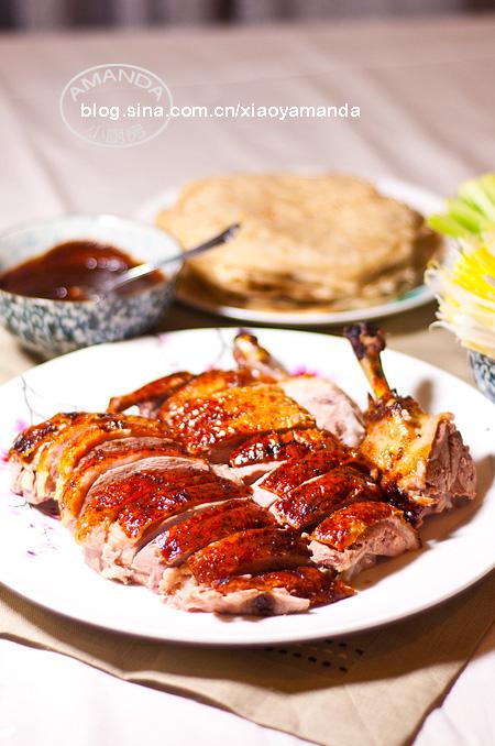 多图详解教你做完美年菜——脆皮北京烤鸭