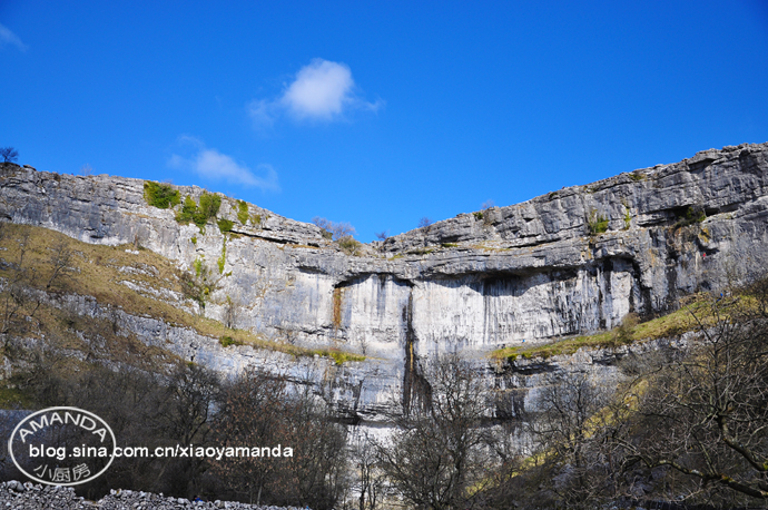 约克郡山谷国家公园游记(三)——冰河时期的地貌Malham<wbr>Cove