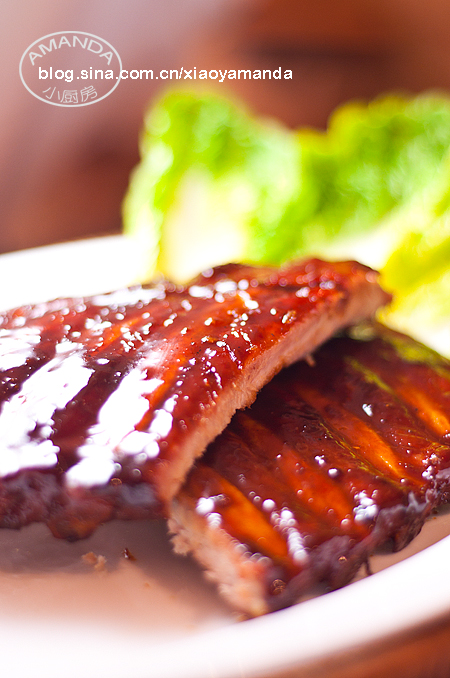 最完美的做法——蜜汁叉烧排骨