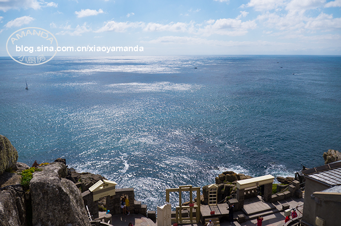 西南海岸Cornwall夏末游记(二)——临海露天剧院、美丽的St<wbr>ives小镇