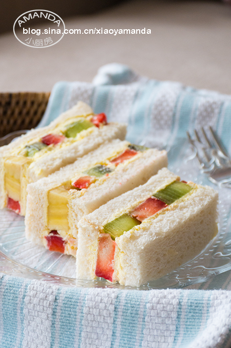 孤独的美食家——水果奶油三明治(视频)